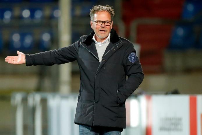 De Graafschap-trainer Henk de Jong.