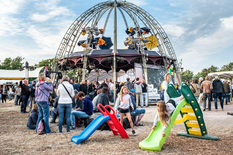 Theaterfestival Oerol op het eiland Terschelling.  Beeld Simon Lenskens