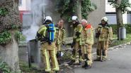 Brandweer rukt uit voor… brandende vuilnisbak
