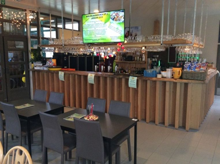 Cafetaria Het Leen in Eeklo.