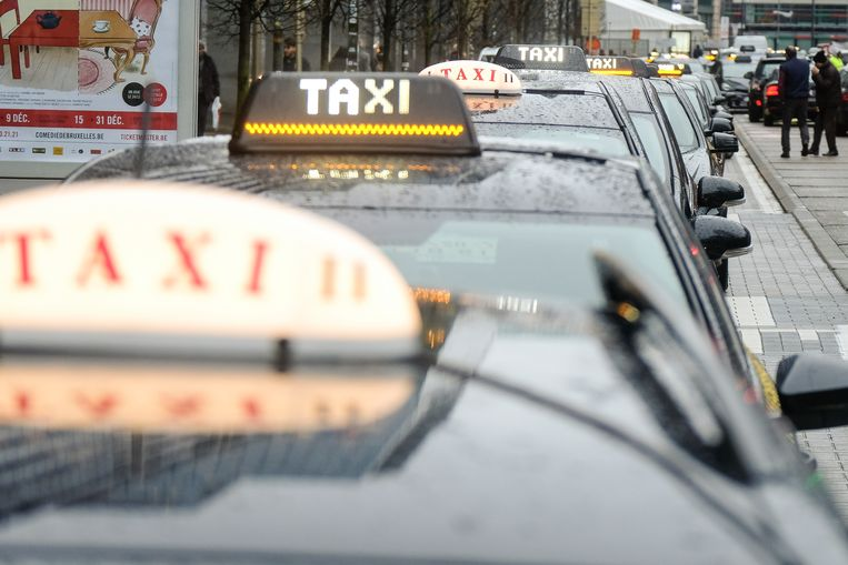 Taxi's Brussel.