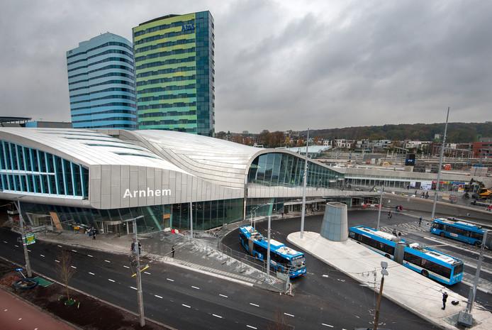 Station Arnhem Centraal.