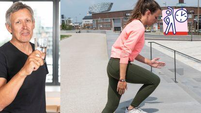 Topkinesist Lieven Maesschalck toont de beste oefeningen voor kracht, lenigheid en fitheid in de stad: doe mee aan 'Fit 4 Summer'-challenge