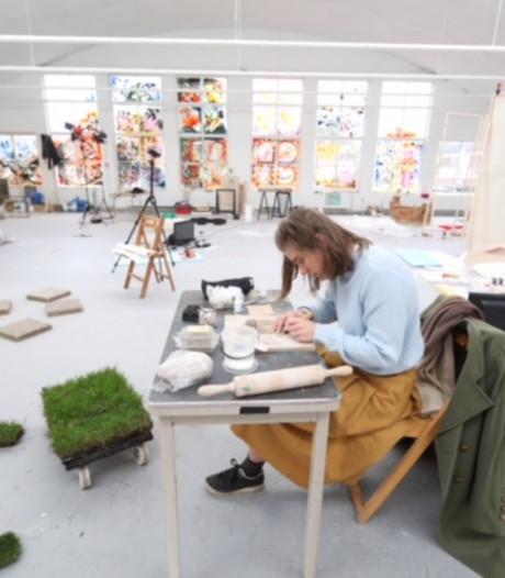 Eén groot kunstwerk in Eindhoven van 54 studenten