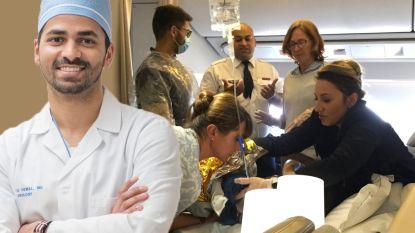 Vrouw bevalt midden op vlucht van Air France naar New York. Twee dokters snellen te hulp