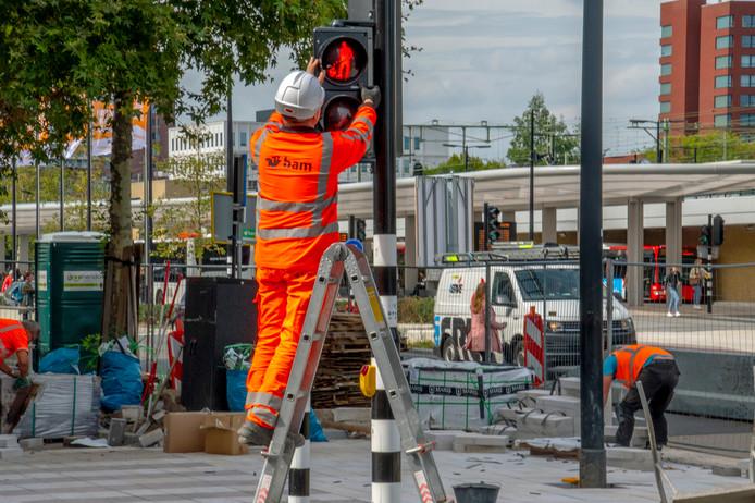 kruikenzeiker voetgangers licht spoorlaan tilburg Foto: Jan van Eijndhoven