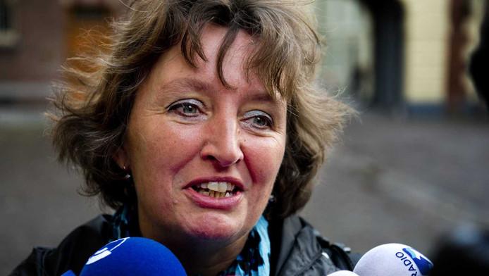 Liesbeth Spies, de nieuwe burgemeester van Alphen aan den Rijn.