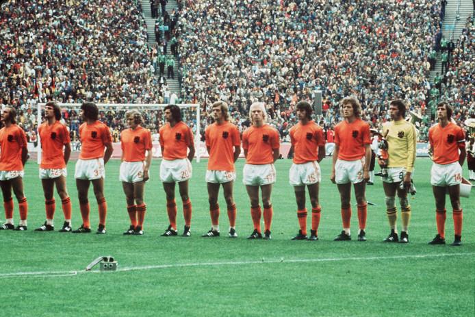Het Nederlands elftal verloor op 7 juli 1974 de WK-finale van Duitsland.