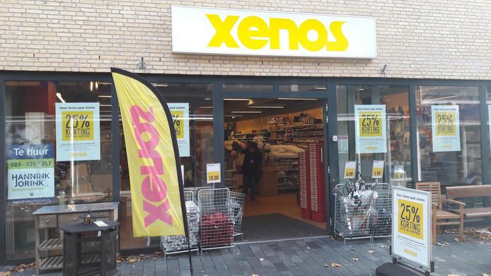 De vestiging van Xenos in Raalte sluit.
