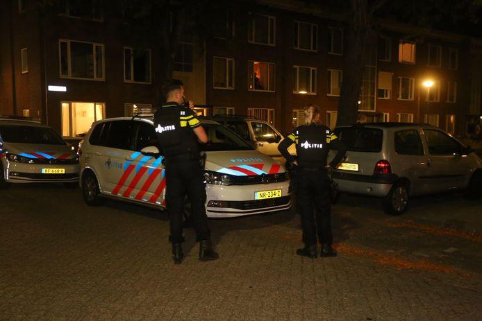 Woning beschoten aan de Hadewychstraat in Den Bosch.