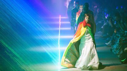 Laatste show van Christopher Bailey voor Burberry was een ode aan de LGBTQ-gemeenschap