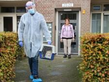 Hans en Harry rijden rond met hun coronabus om katten en honden te testen op virus