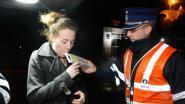 Politie betrapt vijf bestuurders met glas te veel op achter stuur