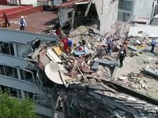 Dronebeelden laten enorme ravage na aardbeving Mexico-Stad zien