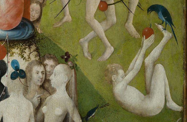 Detail uit De Tuin der Lusten. Beeld null