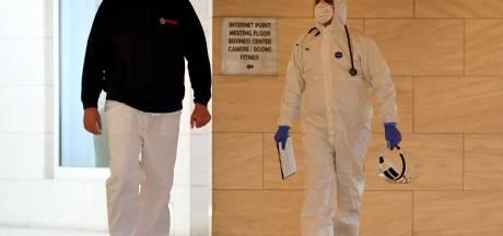 Privés de touristes, les hôtels accueillent des patients Covid à Rome
