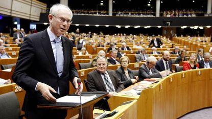 Britse eurohater scheldt Van Rompuy de huid vol
