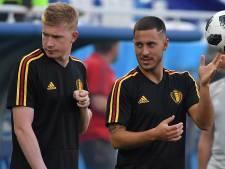 Kevin De Bruyne et Eden Hazard parmi les 30 nommés au Ballon d'Or
