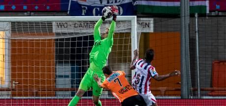 Willem II-doelman Branderhorst dolblij met rentree: 'Afwachten of ik nu weer eerste keeper ben'