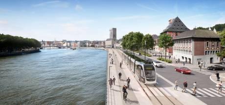 Travaux du tram: trois jours de sondages sur le quai Saint-Léonard
