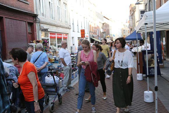 Braderie in Tienen.