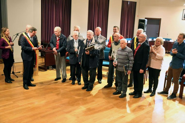 De Salesianen werden ontvangen op het stadshuis.