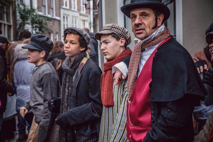 Bergkwartier Deventer in het teken van Dickens Festijn.