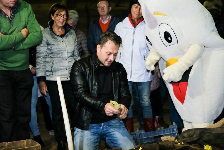 Televisiekok Jeroen De Pauw opende zondag mee het nieuwe seizoen van het Brussels grondwitloof.