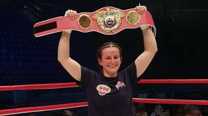 """Twee Belgische vrouwen boksen zaterdag om wereldtitel: """"Live op een Amerikaanse zender tegen zo'n ster, dan rinkelt de kassa"""""""