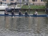 Roeiers doen mee aan Abeelenrace tussen Veere en Middelburg