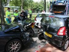Flinke schade bij aanrijding Buitenhofdreef