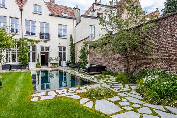 Tuinonderneming Monbaliu met een project in Brugge.