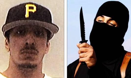 Op video's die IS verspreidde is te zien hoe Mohammed Emwazi kennelijk westerse gijzelaars onthoofdt, waaronder ook hulpverleners.