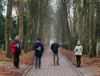 Protest tegen verdwijnen historische dreef gaat verder: flyer laat wandelaars Mostheuvellaan ontdekken