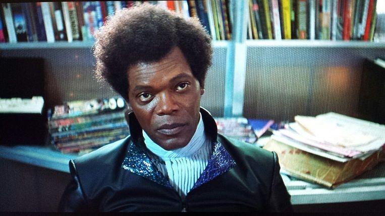 Samuel L. Jackson in Unbreakable van M. Night Shyamalan Beeld