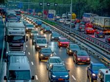 Ongelukken zorgen voor drukte op A15