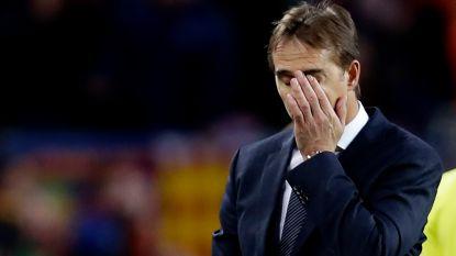 Allesbehalve overtuigende cijfers: ontslagen Julen Lopetegui is op één na slechtste Real-coach in 70 jaar tijd