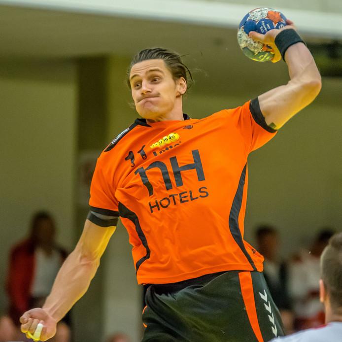 Handballer Iso Sluijters uit Eindhoven.