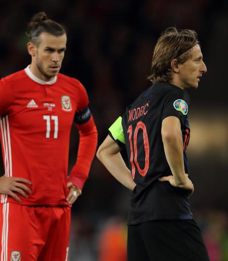 Modric en Bale geblesseerd terug naar Madrid