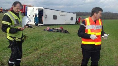 Meer dan 25 gewonden bij ongeval met schoolbus in Frankrijk