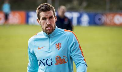 Strootman direct in de basis in 'Nederlands affiche'