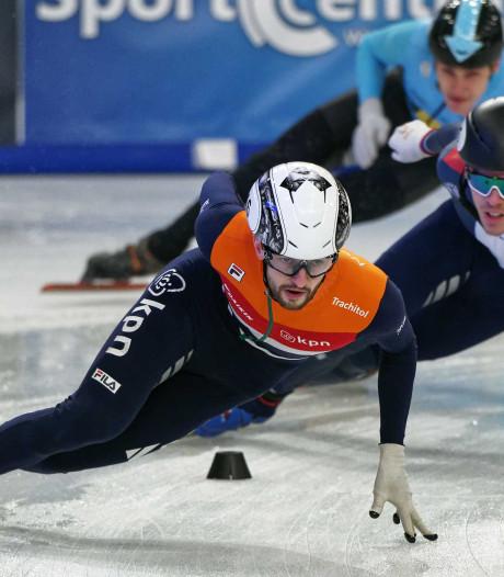 De Laat verrast en pakt voor het eerst eremetaal op 1500 meter shorttrack