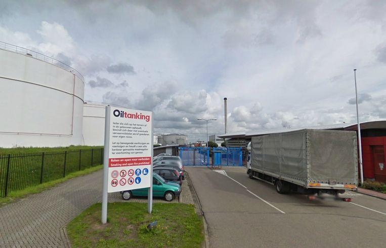 De vestiging van het bedrijf Oiltanking aan de Heining in Amsterdam. Beeld Street View