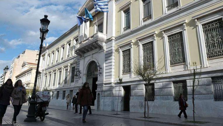 De Nationale Bank van Griekenland. Beeld afp
