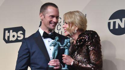 """""""Echtpaar"""" Kidman en Skarsgård ook bij SAG Awards weer in de prijzen"""