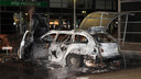 De daders van de liquidatie reden in een BMW, die in Zaltbommel uitgebrand werd aangetroffen.