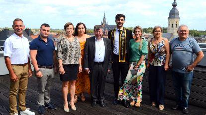 Grigor Sayadyann wordt derde in Mister Benelux-verkiezing