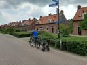 De Van der Lelystraat in Woudrichem