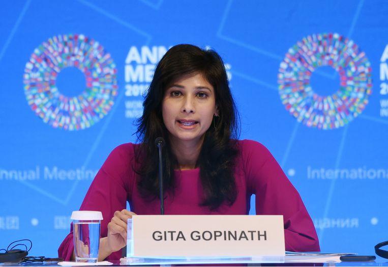 IMF-hoofdeconoom Gita Gopinath.