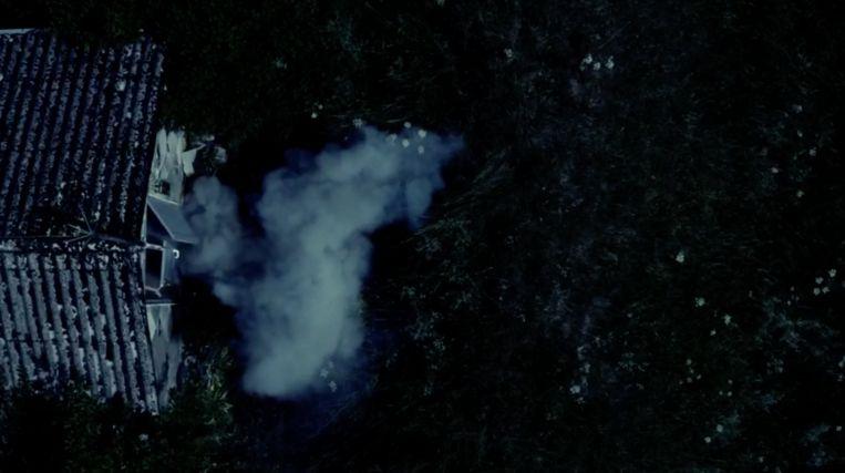 De bewuste ontploffing in 'Kamp Waes'